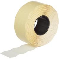 Этикет-лента волна белая 26х16 мм