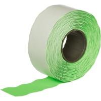 Этикет-лента волна зеленая 26х16 мм