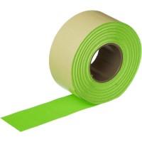 Этикет-лента прямоугольная зеленая 26х16 мм