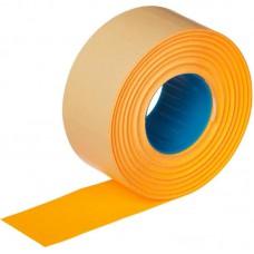 Этикет-лента прямоугольная оранжевая 26х16 мм