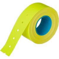 Этикет-лента прямоугольная желтая 21.5х12 мм