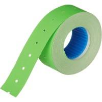 Этикет-лента прямоугольная зеленая 21.5х12 мм
