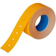 Этикет-лента прямоугольная оранжевая 21.5х12 мм