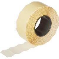 Этикет-лента волна белая 22х12 мм
